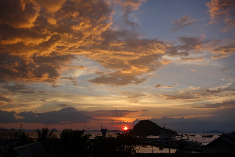 Sunset in Flores