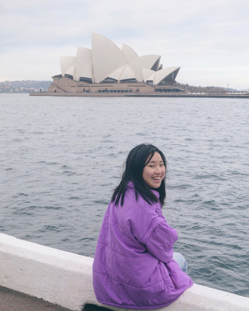 Manda and Sydney Opera House